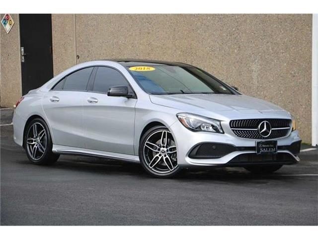 2018 Mercedes-Benz CLA 250 COUPE Salem OR