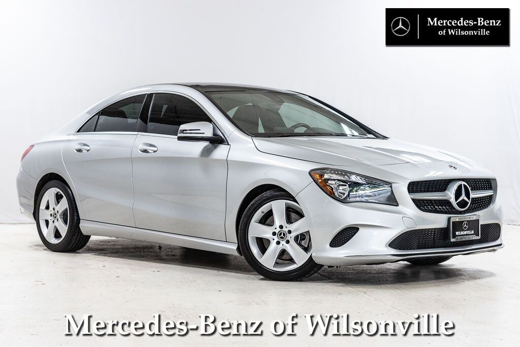 2018 Mercedes-Benz CLA 250 COUPE Wilsonville OR