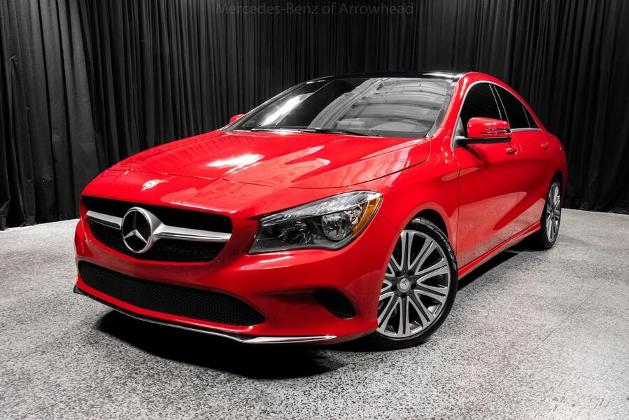 2018 mercedes benz cla 250 coupe peoria az 19109884 for Mercedes benz cla 2018 price