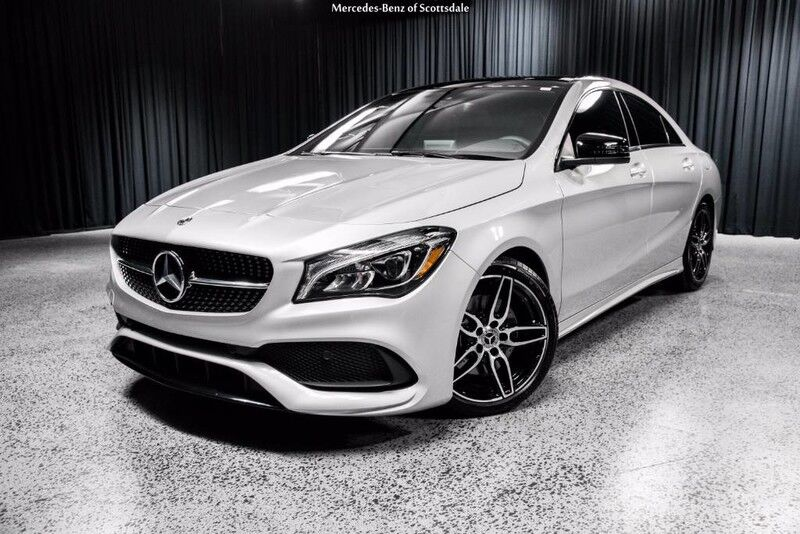 2018 mercedes benz cla 250 coupe scottsdale az 20276807