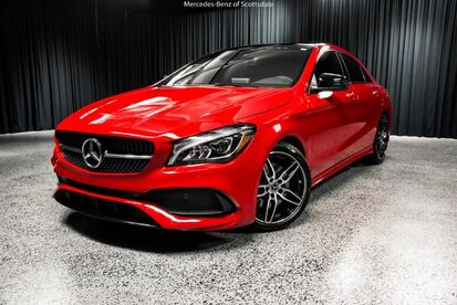 2018_Mercedes-Benz_CLA_250 COUPE_ Scottsdale AZ