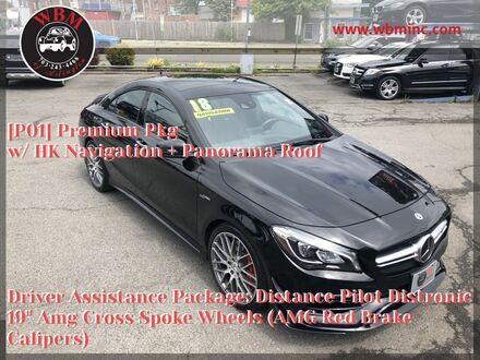 2018_Mercedes-Benz_CLA 45 AMG_4MATIC_ Arlington VA