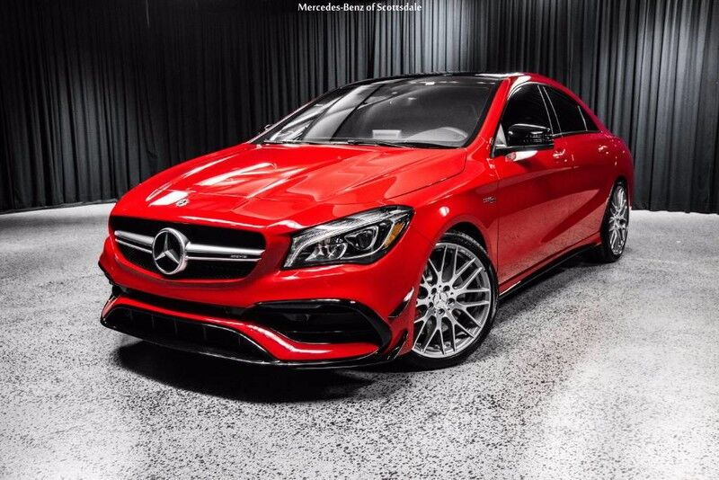 2018 mercedes benz cla 45 amg coupe scottsdale az 20557008 for Mercedes benz north scottsdale