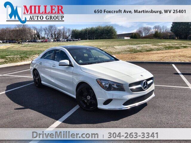 2018 Mercedes-Benz CLA 4MATIC Martinsburg WV