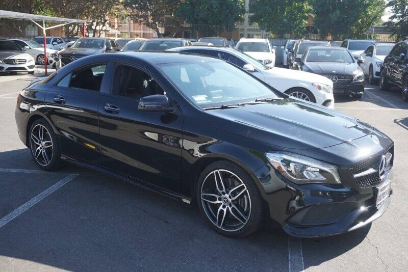 2018 Mercedes-Benz CLA CLA 250 (09/17) SPORT PACKAGE / NIGHT PACKAGE/18AMG Monterey Park CA