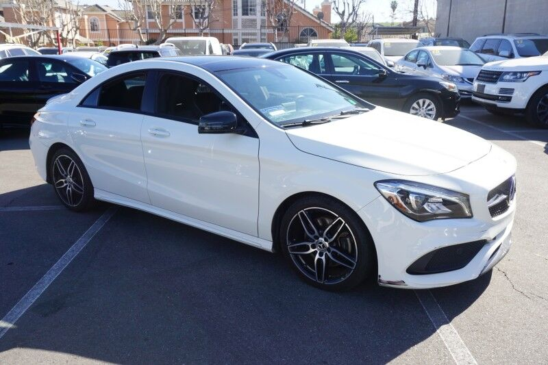 2018 Mercedes-Benz CLA CLA 250 (10/17) SPORT / PANORAMA ROOF / NIGHT PACKAGE/18AMG Monterey Park CA