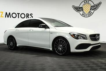 2018_Mercedes-Benz_CLA_CLA 250 4MATIC Special Edition Sport AMG Pano Roof Blind Spot_ Houston TX