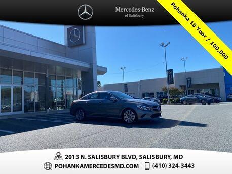 2018_Mercedes-Benz_CLA_CLA 250 4MATIC® ** AWD ** SUNROOF **_ Salisbury MD