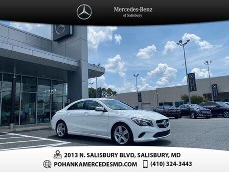 2018_Mercedes-Benz_CLA_CLA 250 4MATIC® ** LOW MILES **_ Salisbury MD
