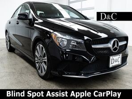 2018_Mercedes-Benz_CLA_CLA 250 4MATIC® Blind Spot Assist Apple CarPlay_ Portland OR