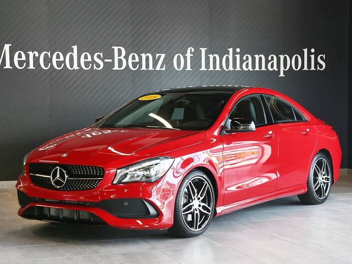 2018 Mercedes-Benz CLA CLA 250 4MATIC® COUPE Indianapolis IN