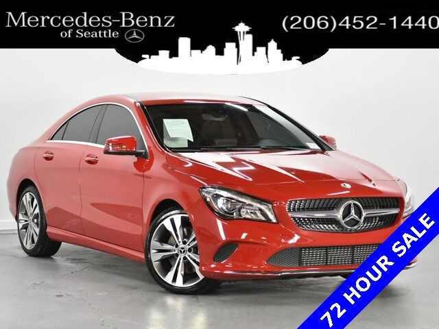 2018 Mercedes-Benz CLA CLA 250 4MATIC® COUPE Seattle WA