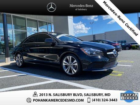 2018_Mercedes-Benz_CLA_CLA 250 4MATIC®_ Salisbury MD