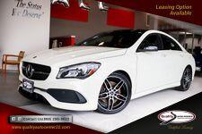 2018 Mercedes-Benz CLA CLA 250 AMG Pkg Premium, Convenience and Night Pkg Panorama Roof