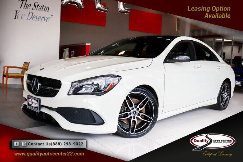 2018 Mercedes-Benz CLA CLA 250 AMG Pkg Premium, Convenience and Night Pkg Panorama Roof Springfield NJ