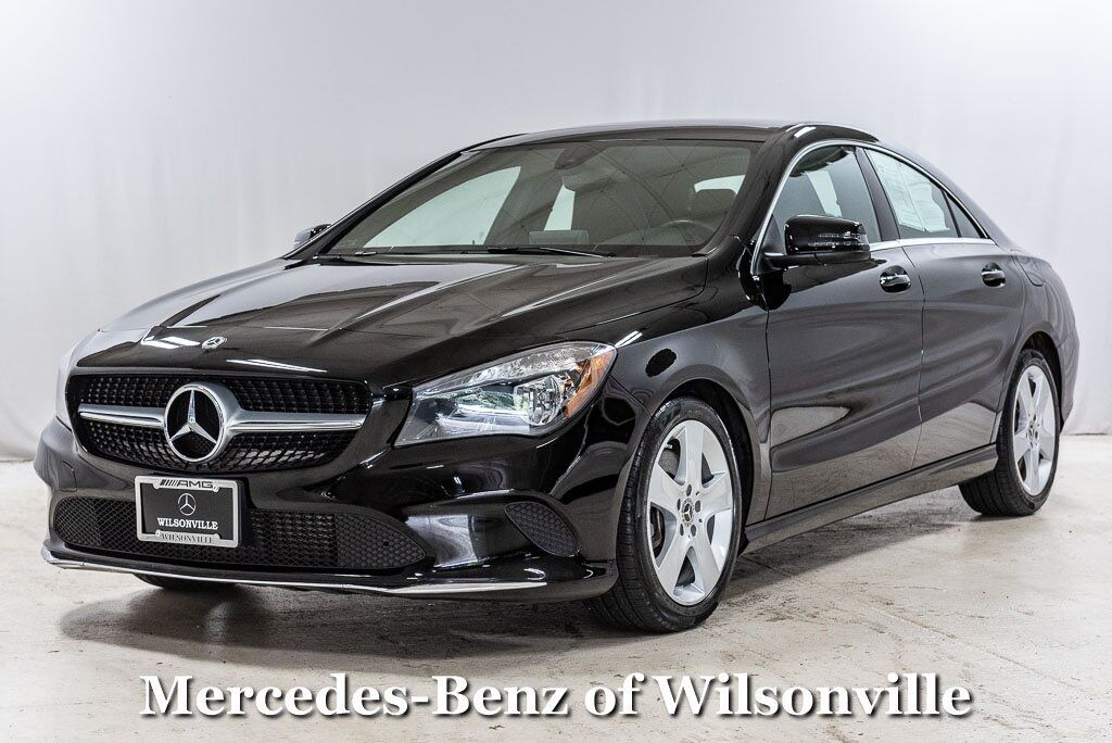 2018 Mercedes-Benz CLA CLA 250 COUPE Wilsonville OR