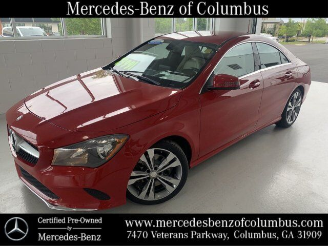 2018 Mercedes-Benz CLA 250 Jupiter Red Columbus GA