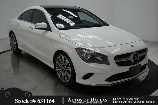 2018_Mercedes-Benz_CLA_CLA 250 NAV,CAM,PANO,HTD STS,BLIND SPOT,18IN WLS_ Plano TX