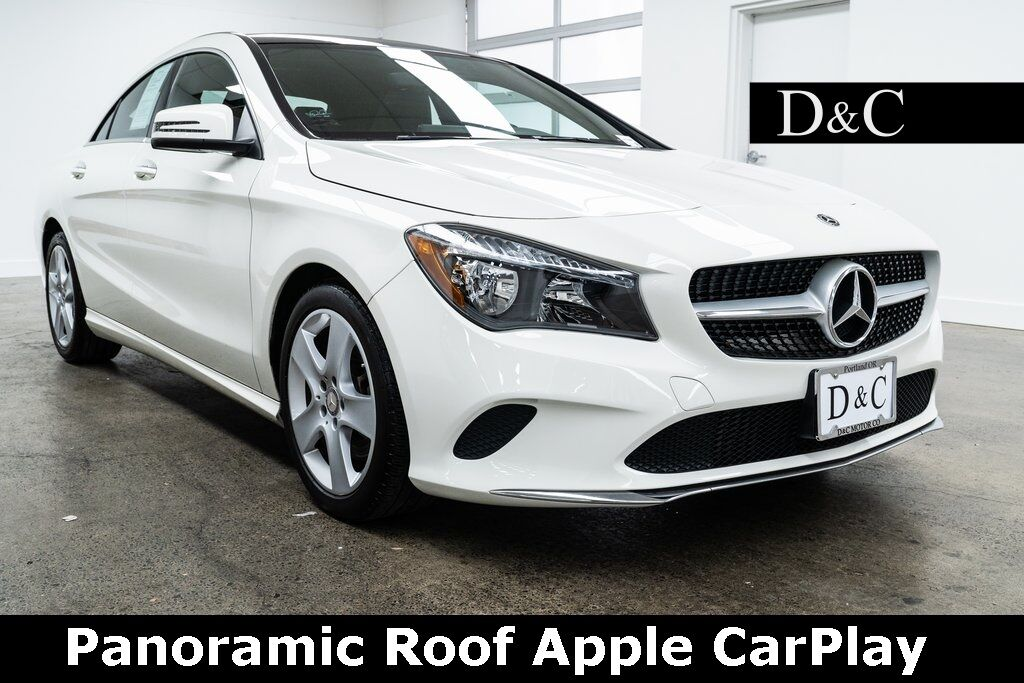 2018 Mercedes-Benz CLA CLA 250 Panoramic Roof Apple CarPlay Portland OR