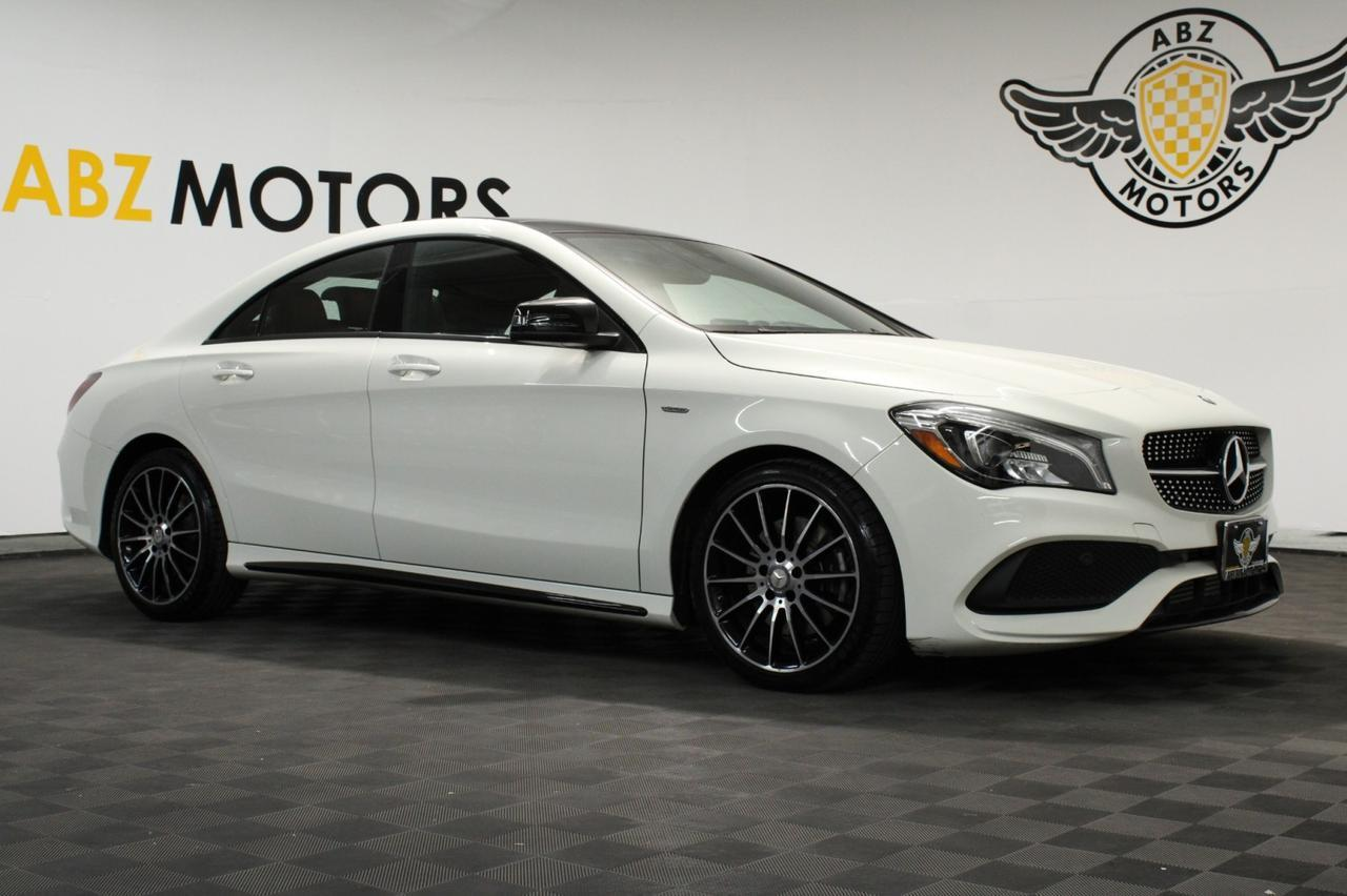 2018 Mercedes-Benz CLA CLA 250 Special Edition Pano Roof Sport AMG Night Pack Blind Spot Houston TX