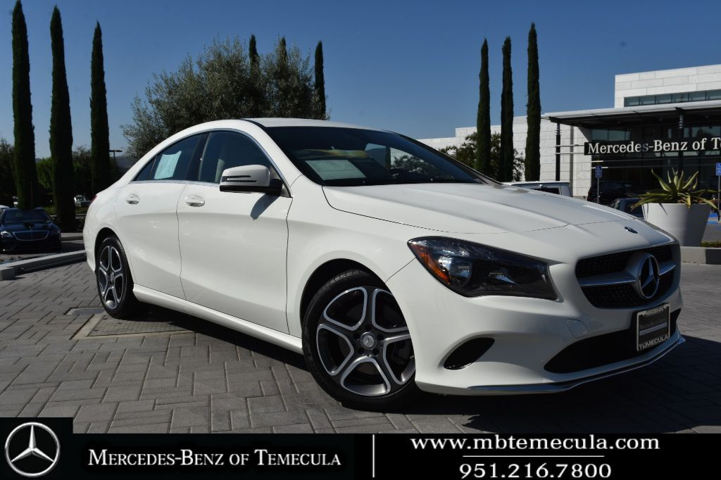 2018 Mercedes-Benz CLA CLA 250 Front Wheel Drive Sedan