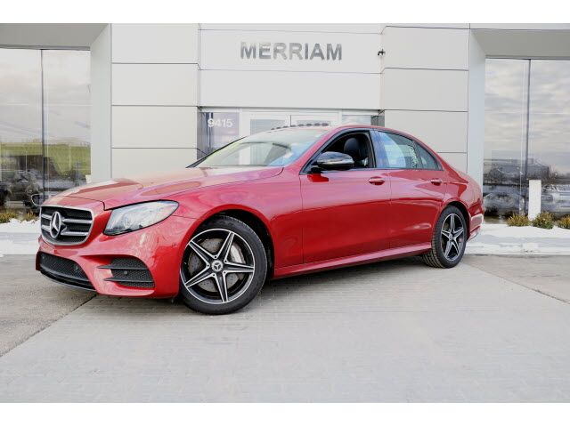 2018 Mercedes-Benz E 300 4MATIC® Sedan Kansas City KS