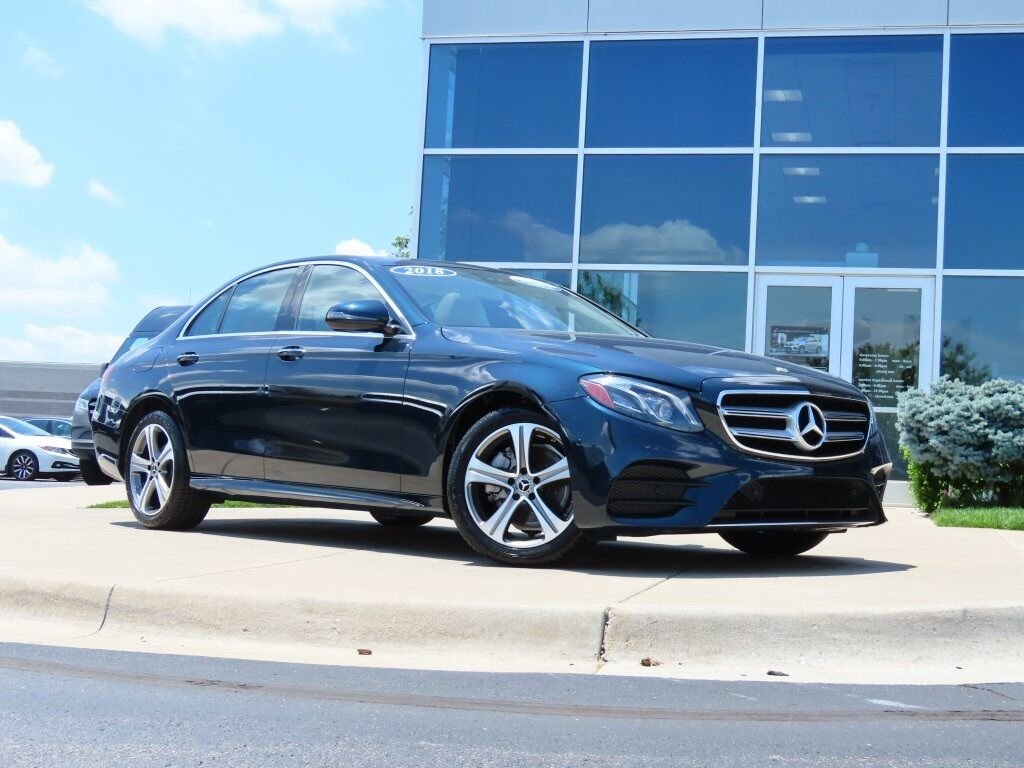 2018 Mercedes-Benz E 300 4MATIC® Sedan Kansas City MO