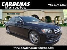 2018_Mercedes-Benz_E_300 Sedan_ Harlingen TX