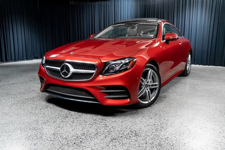2018 Mercedes-Benz E 400 4MATIC® Coupe Scottsdale AZ
