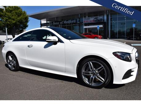 2018_Mercedes-Benz_E-Class_400 4MATIC® Coupe_ Medford OR