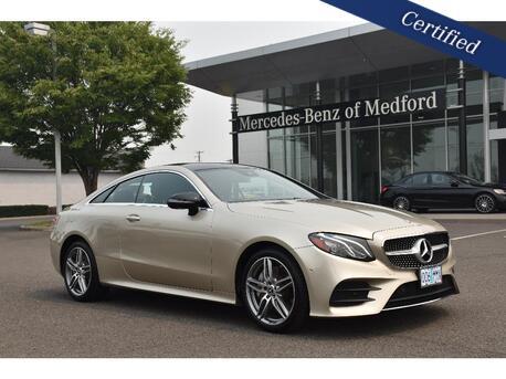 2018_Mercedes-Benz_E-Class_400 4MATIC® Coupe_ Medford OR