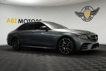 2018_Mercedes-Benz_E-Class_AMG E 43 Panoramic Roof 12.3 Digital Cluster_ Houston TX