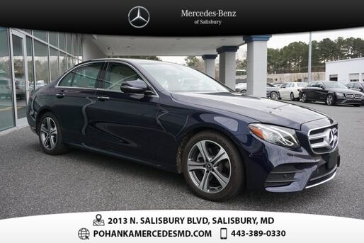 2018_Mercedes-Benz_E-Class_E 300  ** MERCEDES-BENZ CERTIFIED  **_ Salisbury MD