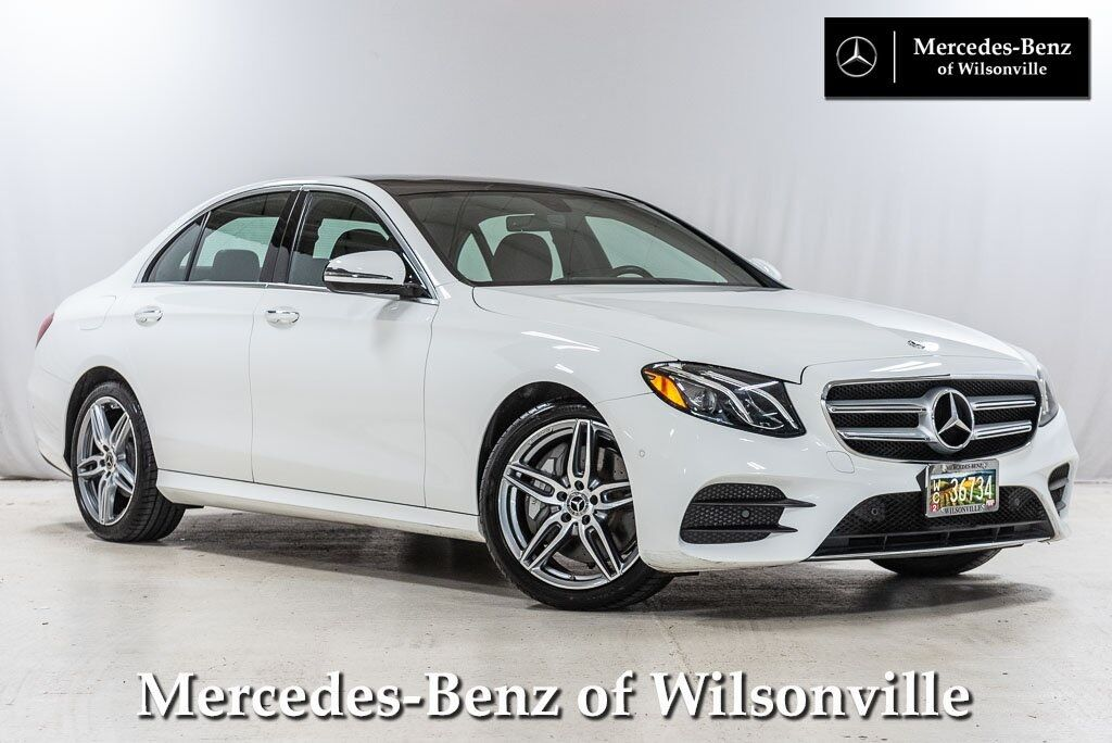 2018 Mercedes-Benz E-Class E 300 4MATIC® Sedan Wilsonville OR