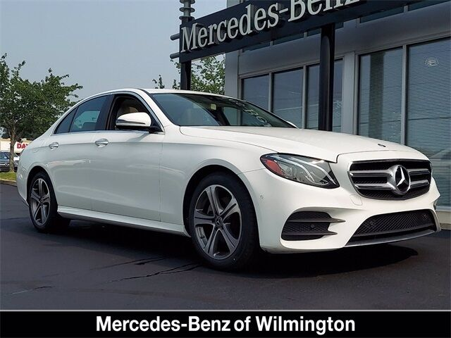 2018 Mercedes-Benz E-Class E 300 4MATIC® Sedan Wilmington DE