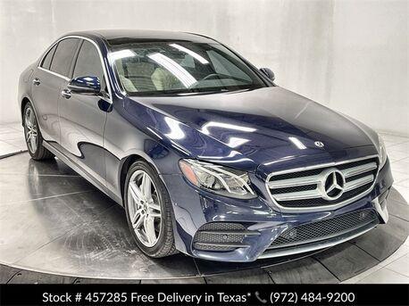 2018_Mercedes-Benz_E-Class_E 300 AMG SPORT,NAV,CAM,SUNROOF,HTD STS,BLIND SPOT_ Plano TX