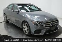 Mercedes-Benz E-Class E 300 NAV,CAM,PANO,HTD STS,AMG WLS,BLIND SPOT 2018