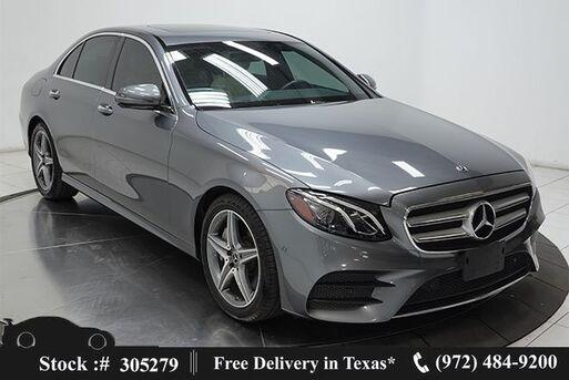 2018_Mercedes-Benz_E-Class_E 300 NAV,CAM,SUNROOF,HTD STS,AMG WLS,BLIND SPOT_ Plano TX