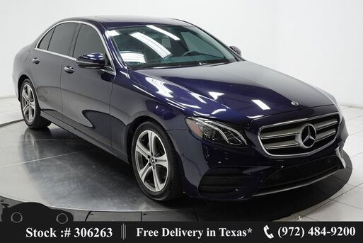 2018_Mercedes-Benz_E-Class_E 300 NAV,CAM,SUNROOF,HTD STS,BLIND SPOT,LED LIGHT_ Plano TX