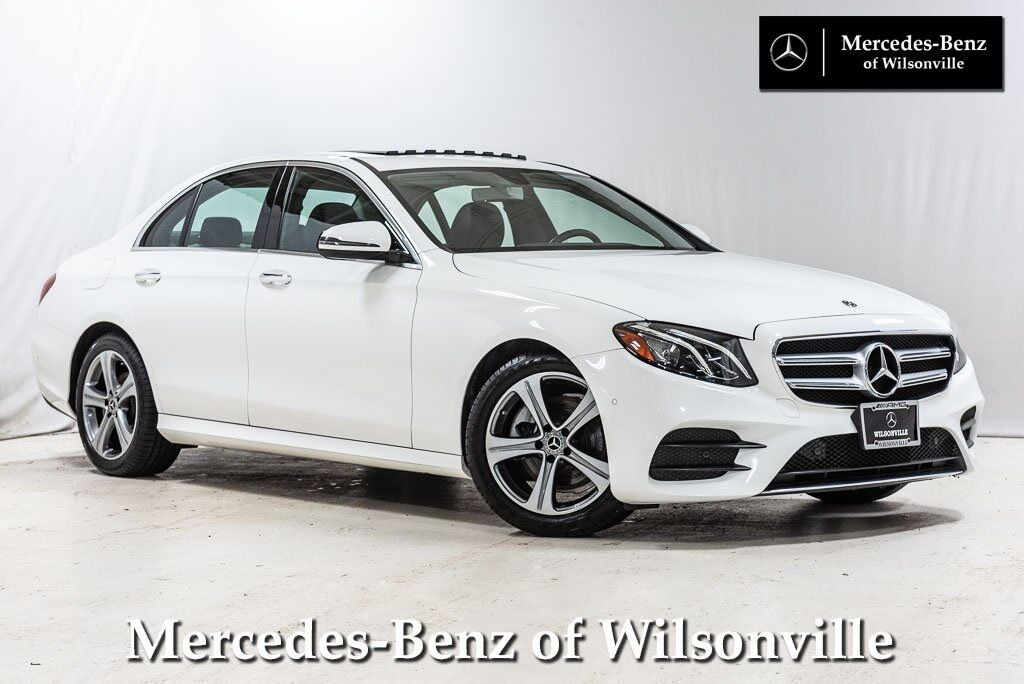 2018 Mercedes-Benz E-Class E 300 Sedan Wilsonville OR