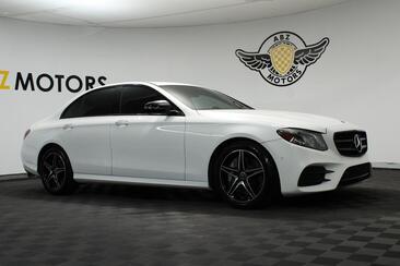 2018_Mercedes-Benz_E-Class_E 300 Sport AMG Night Package 12.3 Digital Cluster_ Houston TX
