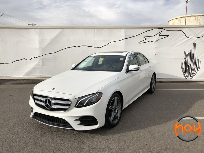 2018 Mercedes-Benz E-Class E 400 4MATIC Sedan El Paso TX