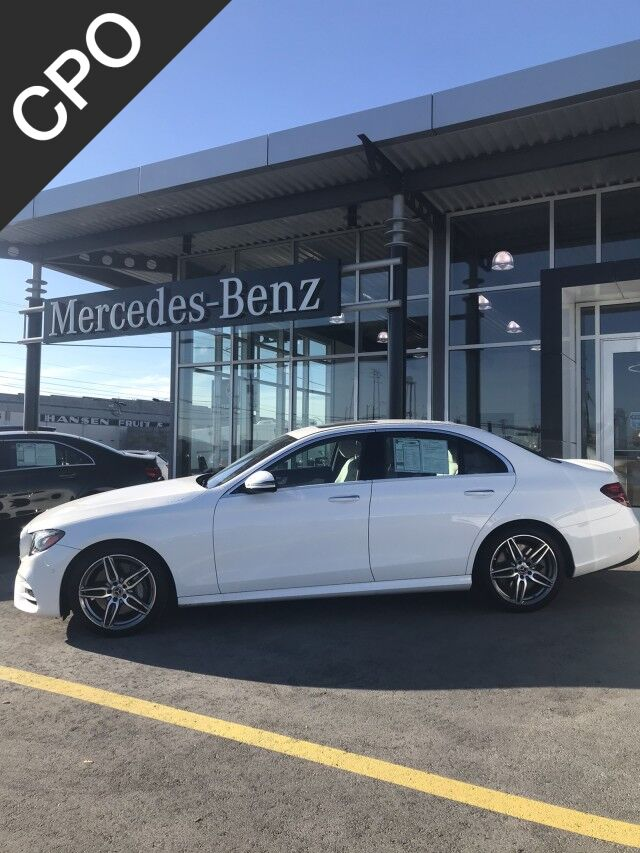 2018 Mercedes-Benz E-Class E 400 4MATIC® Sedan Yakima WA