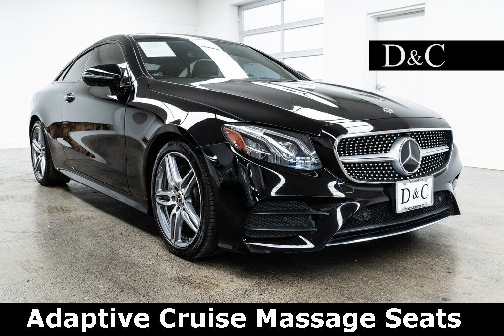 2018 Mercedes-Benz E-Class E 400 Adaptive Cruise Massage Seats Portland OR