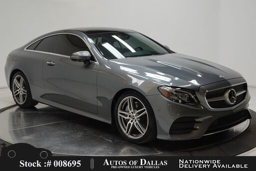2018_Mercedes-Benz_E-Class_E 400 Coupe AMG SPORT,NAV,CAM,PANO,HEADS-UP_ Plano TX