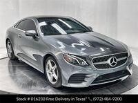 Mercedes-Benz E-Class E 400 Coupe AMG SPORT,NAV,CAM,PANO,HTD STS,BLIND S 2018
