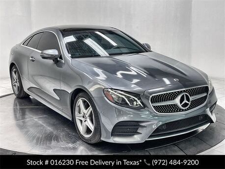 2018_Mercedes-Benz_E-Class_E 400 Coupe AMG SPORT,NAV,CAM,PANO,HTD STS,BLIND S_ Plano TX