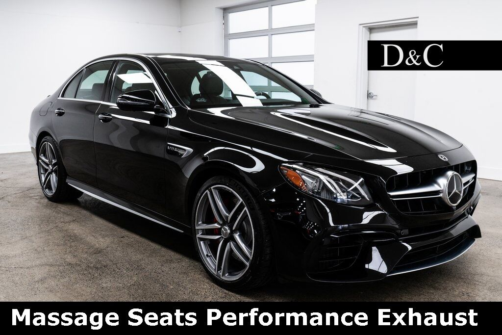 2018 Mercedes-Benz E-Class E 63 S AMG 4MATIC Massage Seats Performance Exhaust Portland OR