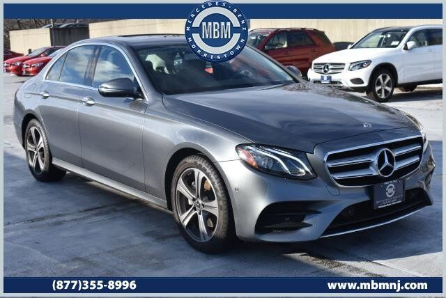 2018 Mercedes-Benz E-Class E300 4MATIC® Sedan Morristown NJ