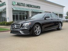 2018_Mercedes-Benz_E-Class_E300 Luxury Sedan Sunroof Back-Up Camera Blind Spot Monitor Bluetooth Connection Climate Control_ Plano TX